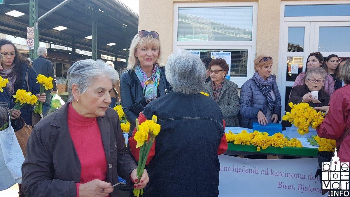 U Bjelovaru obilježen DAN NARCISA-Nacionalni dan borbe protiv raka dojke