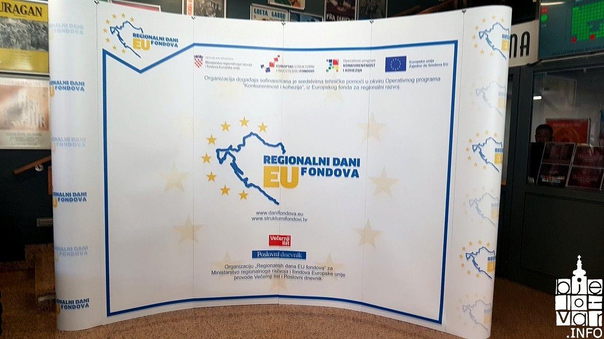 U Bjelovaru održane besplatne edukacije o korištenju EU fondova - iste najavljene u sklopu Proljetnog sajma u Gudovcu