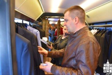 Stigao Varteksov Modabus u Bjelovar – novi oblik modnog šopinga