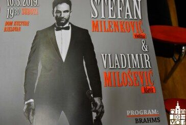 Nakon deset godina ponovo u našem gradu svjetski violinist Stefan Milenković