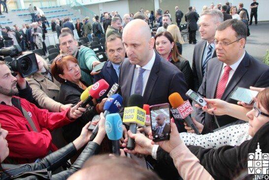 Ministar Tolušić otvorio Proljetni sajam u Gudovcu: poljoprivrednike očekuje puno više novca za primarnu proizvodnju i za poticanje konkurentnosti