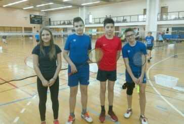 Mlade badmintonske snage iz Bjelovara nastupile u 2. kolu Hrvatskog kupa