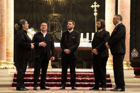 Korizmeni koncert klape Žrnovnica u katedrali u Bjelovaru