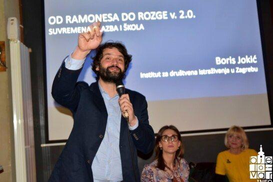 Velika zainteresiranost bjelovarske publike za predavanje Borisa Jokića