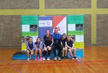 Održano 2. kolo Hrvatskog kupa u badmintonu za poletarce