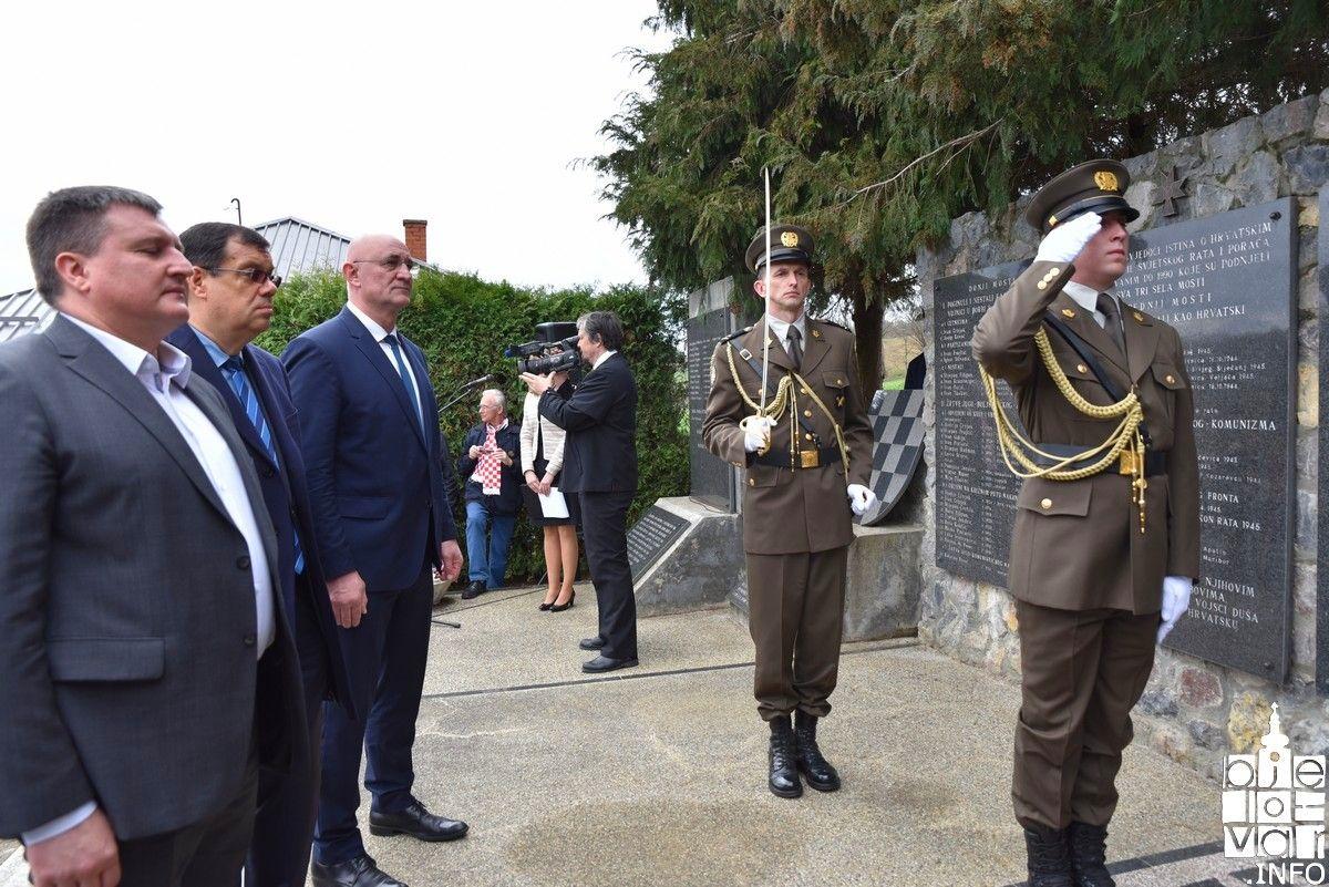 Komemoracija u Donjim Mostima povodom 78. obljetnice prvog ratnog zločina