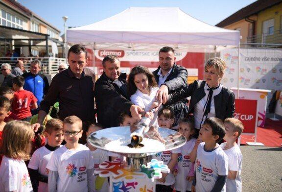Održana velika Turneja radosti Plazma Sportskih igara mladih u Čazmi