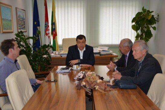Susret župana Bajsa i predsjednika Hrvatske stranke umirovljenika Silvana Hrelje