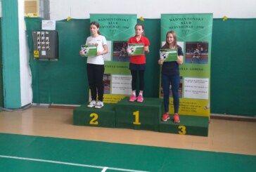 Naša LEA ČALE treća u četvrtom kolu Zagrebačke badmintonske lige
