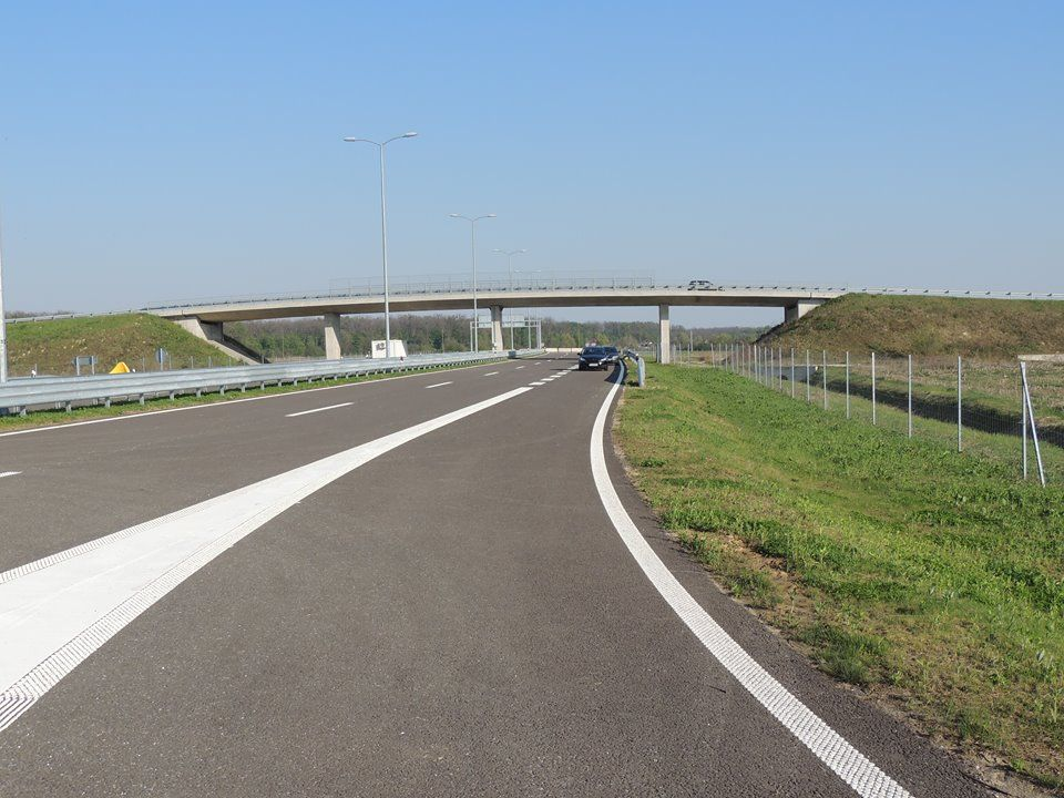 Deset godina nakon postavljanja kamena temeljca otvorena brza cesta od Vrbovca do Farkaševca