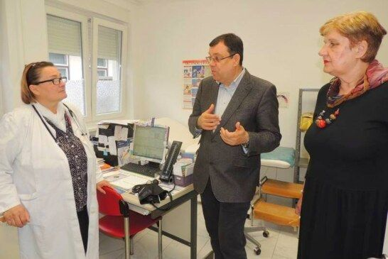 Župan Bajs obišao novoobnovljeni Dom zdravlja u Čazmi u koji je uloženo 1,8 milijuna kuna