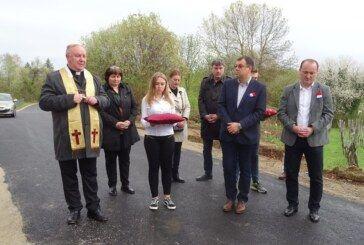 Otvorena novoasfaltirana cesta Kapelica-Dišnik