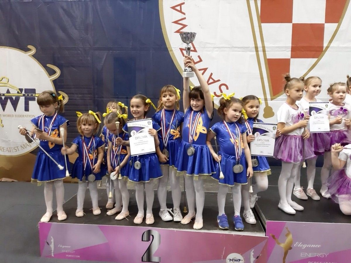 ČAZMANSKE MAŽORETKINJE dvostruke državne prvakinje i viceprvakinje Hrvatske