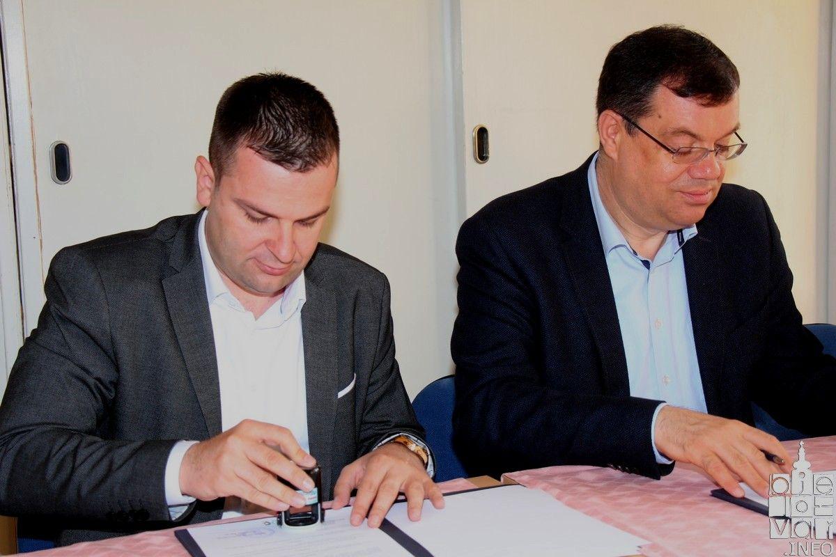 Odlična suradnja Županije i Grada: potpisan sporazum o suradnji na projektu Studentskog doma