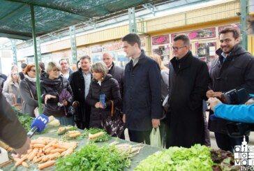 Ni kiša ni vjetar nisu zaustavili HDZ-ove kandidate za EU parlament u obilasku Bjelovarsko-bilogorske županije