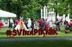 Kaufland u Bjelovaru organizirao piknik na Trgu Eugena Kvaternika