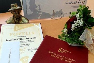 Lovrakovi dani kulture: Nagradu za najbolji dječji roman dobila Jasminka Tihi Stepanić