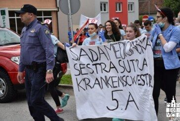 FOTO: Najluđi dan bjelovarskih maturanata kojih je svake godine sve manje