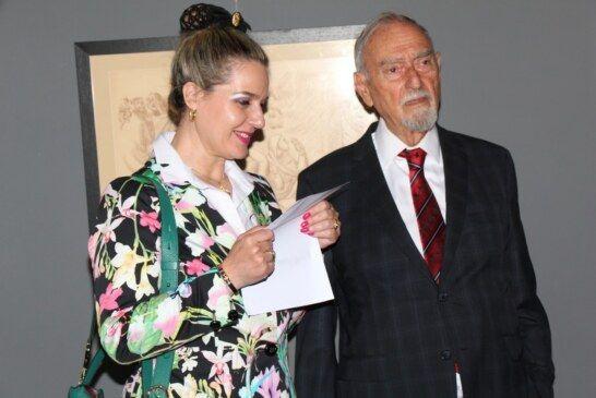 Mate Meštrović otvorio izložbu svojeg oca Ivana u Gradskom muzeju Bjelovar