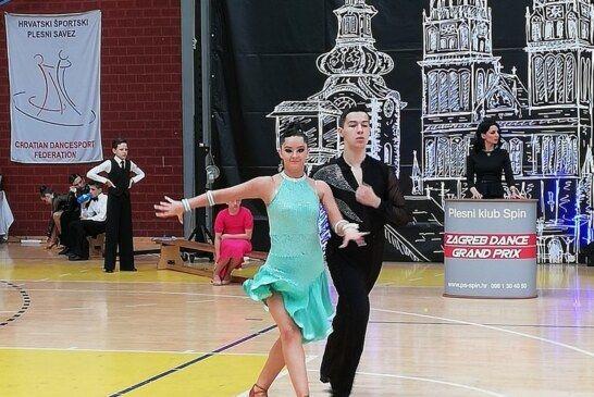 Odlični rezultati mladih plesača bjelovarskog kluba H-8 u Zagrebu