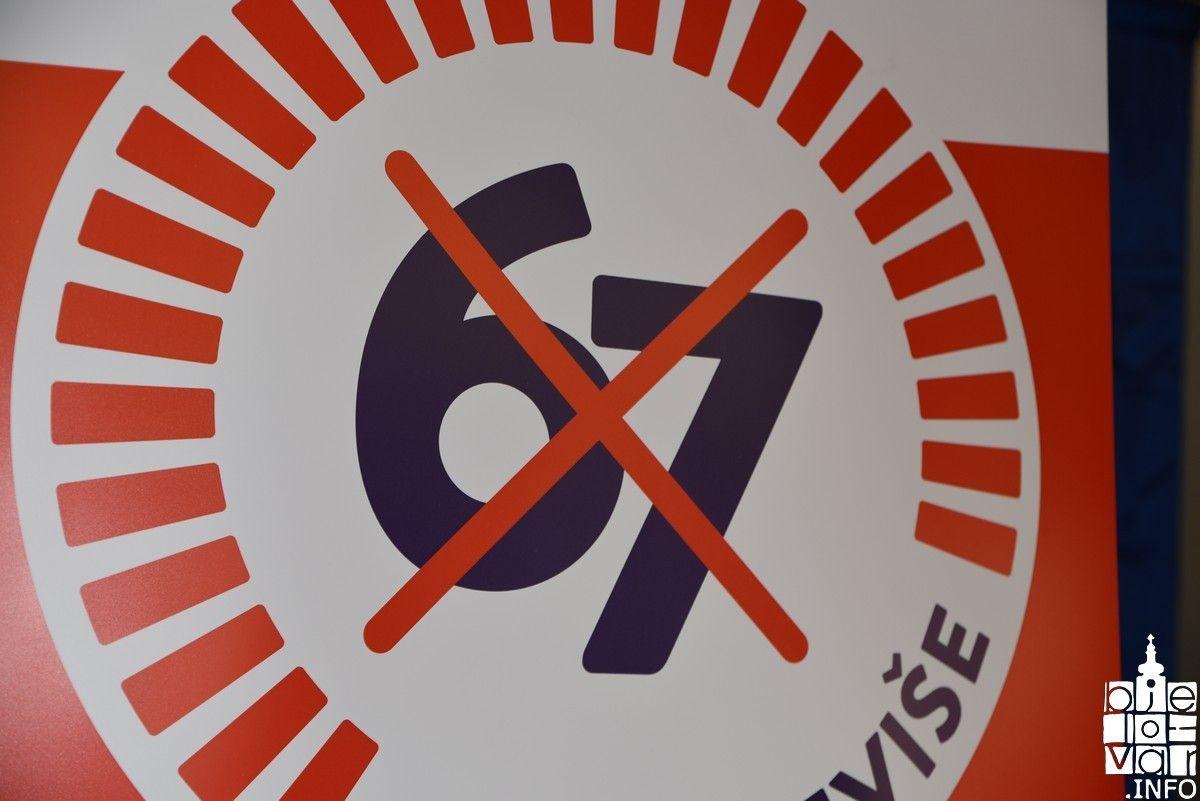Bjelovarčani podržavaju i potpisuju referendumsku inicijativu '67 je previše'
