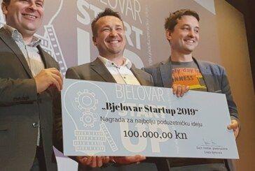 Bjelovar – Goran Pauška osvojio nagradu za najbolji Startup 2019. i 100 tisuća kuna