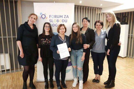 Komercijalna i trgovačka škola Bjelovar ponosna na učenike koji su sudjelovali u projektu volontiranja