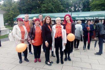 """Svjetski dan multiple skleroze obilježen u Bjelovaru pod motom """"Moja nevidljiva multiple skleroza, učinimo nevidljivo vidljivim"""""""