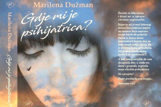 """U Bjelovar stiže Marilena Dužman – autorica romana """"Gdje mi je psihijatrica?"""""""