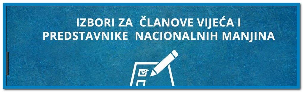 KONAČNI REZULTATI izbora vijeća i predstavnika nacionalnih manjina Bjelovarsko-bilogorske županije