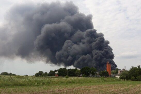 PU bjelovarsko-bilogorska: Požar skladišta otpadnog materijala u Grubišnom Polju