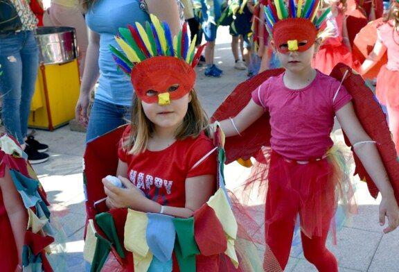 U Bjelovaru održana tradicionalna dječja manifestacija Cvjetni korzo 2019.