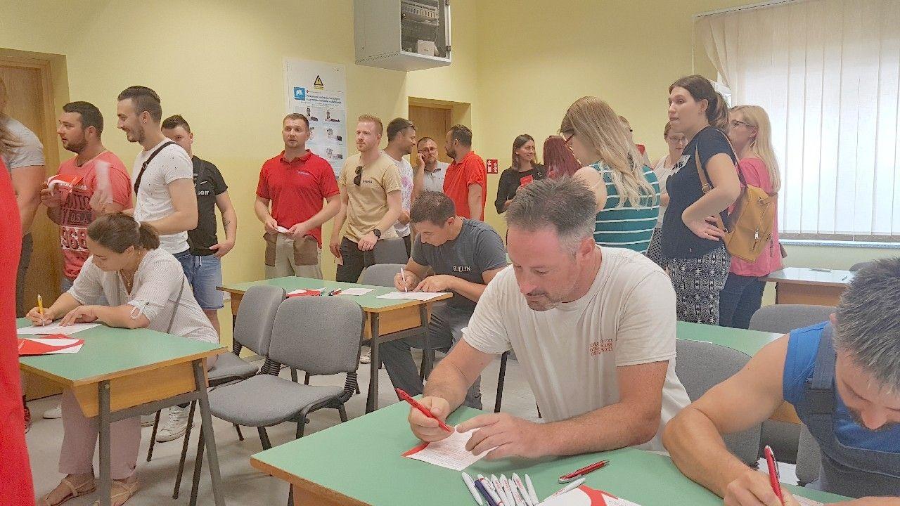 U Bjelovaru dobrovoljni darivatelji krvi pokazali veliko srce - Veliki odaziv građana