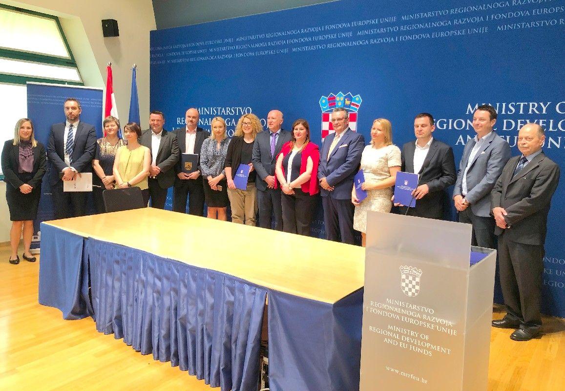 Novi EU projekti vrijedni više od 204 milijuna kuna i nova područja za proširenje ITU mehanizma - među kojima je i Grad Bjelovar