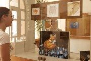 U bjelovarskoj Knjižnici otvorena izložba 14-godišnje Nicole Vidović