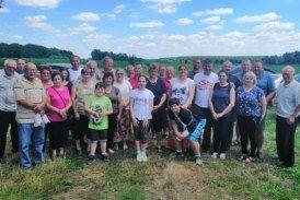 Obiteljsko druženje članova HSS-a Bjelovar uz roštiljadu