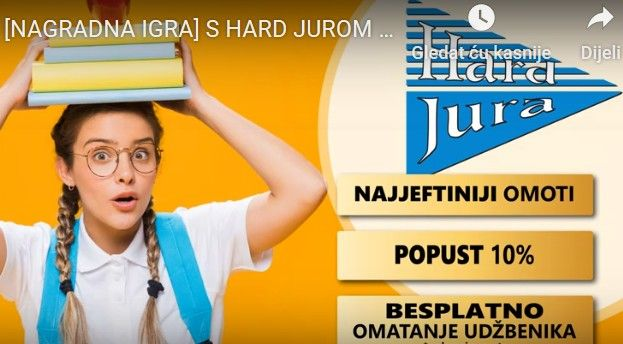 OSVOJITE električni romobil i druge nagrade u HARD JURI: Pripremite se za školu