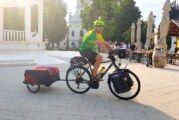 LJEPOTA ŽUPANIJE KROZ CIKLOTURIZAM: Biciklist Hrvoje Supančić krenuo na put dug 700 kilometara