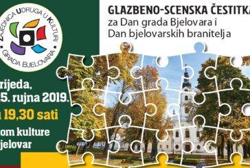 DOĐITE na veliki kulturni događaj povodom Dana Grada i Dana bjelovarskih branitelja