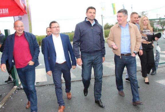 Sajam u Gudovcu posjetio i predsjednički kandidat Zoran Milanović: Državnici se trebaju baviti važnijim temama, a ne intonacijom himne u školama
