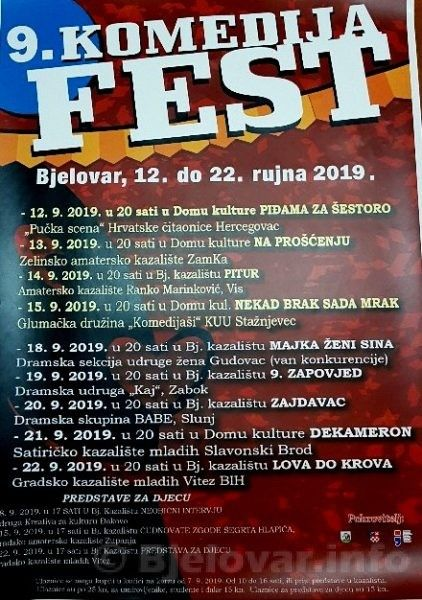 2019 bjelovar info komedijafest 1