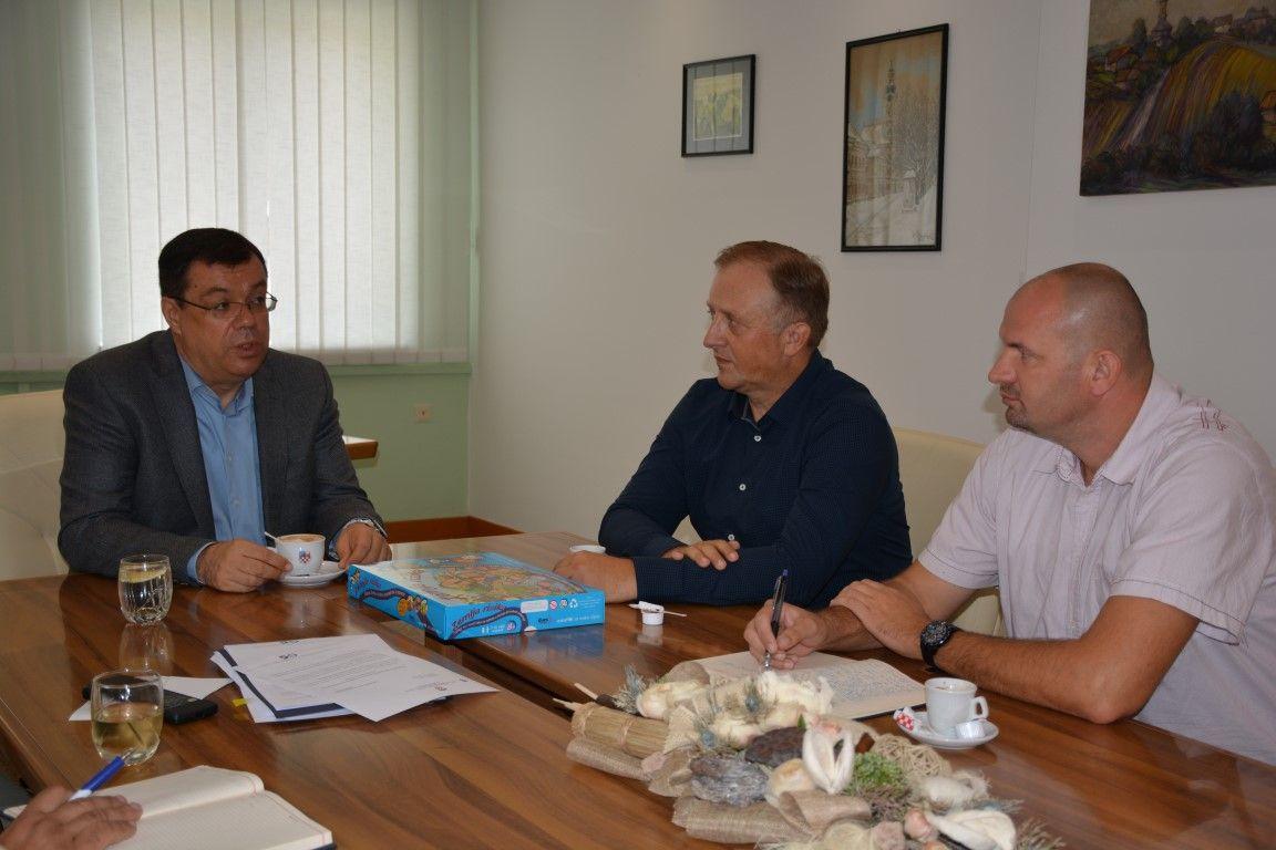 Župan Bajs primio predstavnike Ravnateljstva civilne zaštite