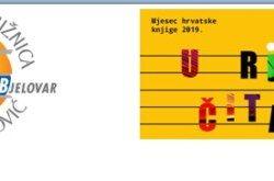 Narodna Knjižnica Bjelovar: Mjesec hrvatske knjige 2019.