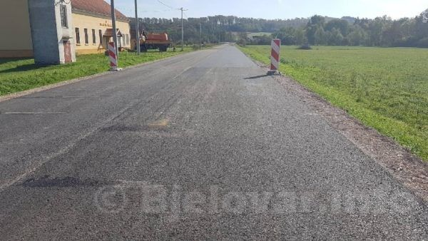 Trenutno najvrjedniji županijski projekt u cestogradnji – obnova prometnice u Šimljanici