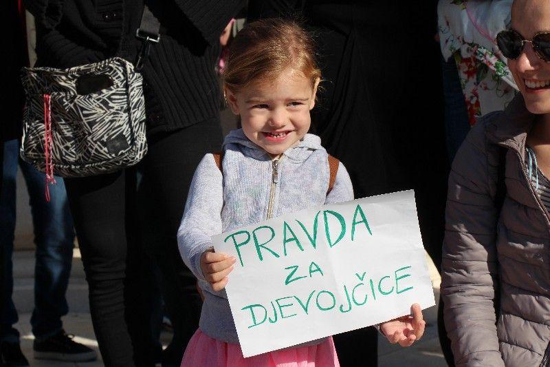 Pravda za djevojčice tražila se i u Bjelovaru