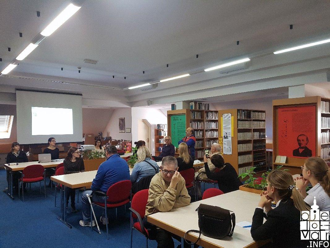 Radionica o zvučnim knjigama za slijepe i slabovidne osobe održana u bjelovarskoj Knjižnici
