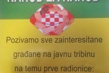 NE PROPUSTITE: Sutra u Bjelovaru javna tribina na temu 'JAVNI RAČUNI I OVRHE'