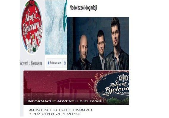 Gdje je nestao PROGRAM Adventa u Bjelovaru do 12. siječnja, 2020.? Pred nama je vikend program i program za 2018.