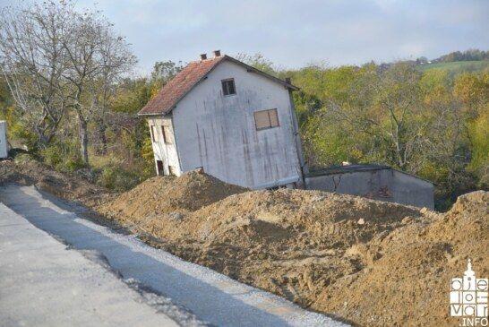 U tijeku dugoočekivana sanacija klizišta u naselju BATINJANI u općini ĐULOVAC vrijedna 3,1 milijuna kuna