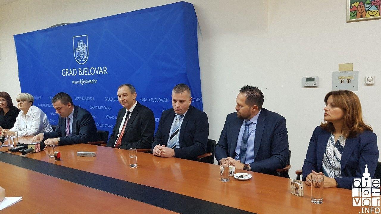 Kreće kreditna linija Bjelovarski poduzetnik 2019: Gradonačelnik Hrebak potpisao sporazum s bankama